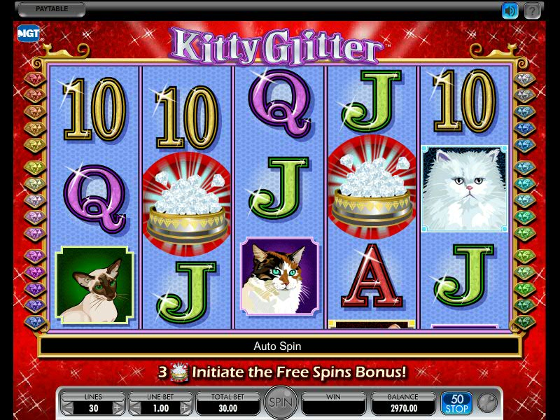 Kitty Glitter M Slotmachines77 Com