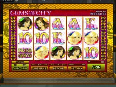 Gems and the City slotmachines77.com GamesOS 1/5