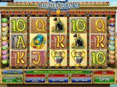 Cleopatra Treasure slotmachines77.com GamesOS 1/5