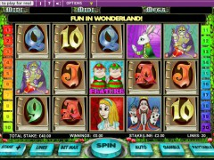 Alice in Wonderland slotmachines77.com OpenBet 1/5