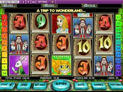 Alice in Wonderland slotmachines77.com OpenBet 3/5