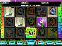 Alice in Wonderland slotmachines77.com OpenBet 5/5