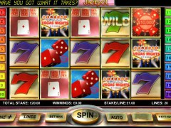Vegas Nights slotmachines77.com OpenBet 1/5