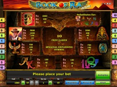 Book of Ra Deluxe slotmachines77.com Gaminator 2/5