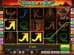 Book of Ra Deluxe slotmachines77.com Gaminator 3/5