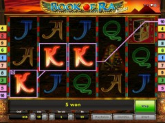 Book of Ra Deluxe slotmachines77.com Gaminator 4/5