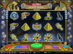 Eye of the Pharaoh slotmachines77.com Omega Gaming 1/5