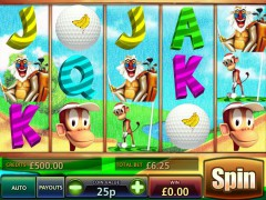 Golf n Monkeys slotmachines77.com MultiSlot 1/5