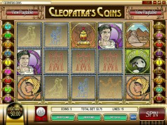 Cleopatra's Coins slotmachines77.com Rival 1/5