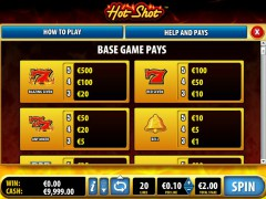 Hot Shot slotmachines77.com Bally 2/5