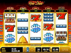 Hot Shot slotmachines77.com Bally 3/5
