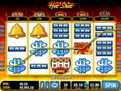 Hot Shot slotmachines77.com Bally 4/5