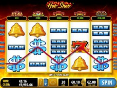 Hot Shot slotmachines77.com Bally 5/5
