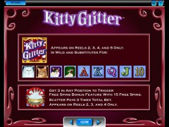 Kitty Glitter slotmachines77.com IGT Interactive 3/5