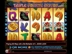 Triple Fortune Dragon slotmachines77.com IGT Interactive 3/5