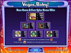 Vegas Baby slotmachines77.com IGT Interactive 2/5