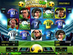 Worldcup Goldenboot slotmachines77.com Spadegaming 1/5