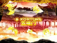 5 Fortune slotmachines77.com Spadegaming 1/5