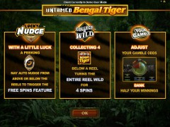 Untamed Bengal Tiger - Microgaming
