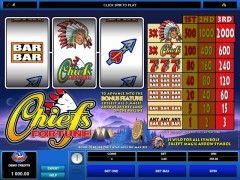 Chief's Fortune - Microgaming