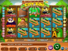 The Great Escape Of City Zoo slotmachines77.com Wirex Games 1/5