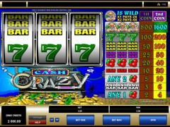Cash Crazy slotmachines77.com Microgaming 1/5