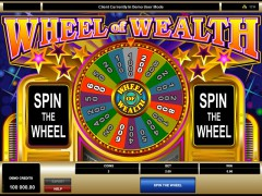 Spectacular Wheel of Wealth - Microgaming
