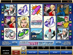 Agent Jane Blonde slotmachines77.com Microgaming 1/5
