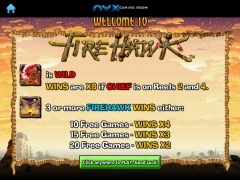 Fire Hawk slotmachines77.com NextGen 1/5