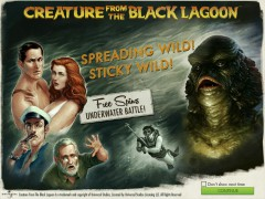 Creature from the Black Lagoon slotmachines77.com NetEnt 1/5