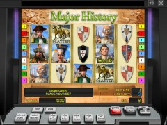 Major History slotmachines77.com Novomatic 1/5