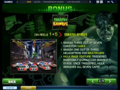 The Incredible Hulk slotmachines77.com Playtech 3/5