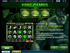 The Incredible Hulk slotmachines77.com Playtech 4/5