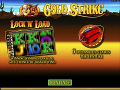 Gold Strike - Microgaming