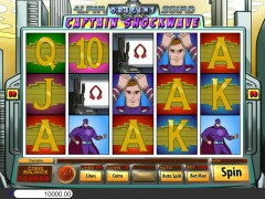 Alpha Squad Origins Captain Shockwave slotmachines77.com Betonsoft 1/5