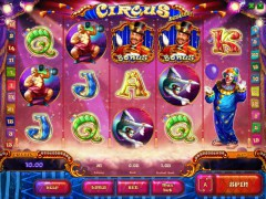 Circus deluxe slotmachines77.com Playson 1/5