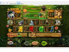 Happy Jungle slotmachines77.com Playson 2/5