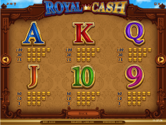 Royal Cash slotmachines77.com iSoftBet 5/5