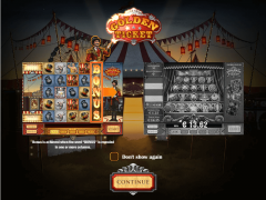 Golden Ticket slotmachines77.com Play'nGo 1/5