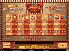 Golden Ticket slotmachines77.com Play'nGo 4/5