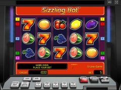 Sizzling Hot slotmachines77.com Greentube 1/5
