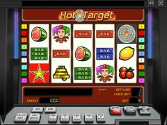 Hot Target slotmachines77.com Greentube 1/5