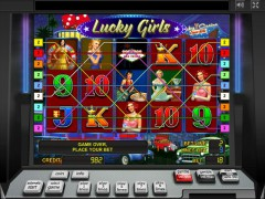 Lucky Girls slotmachines77.com Gaminator 5/5