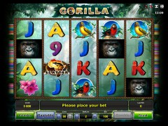 Gorilla slotmachines77.com Greentube 1/5