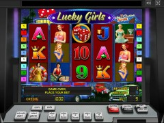 Lucky Girls slotmachines77.com Greentube 1/5