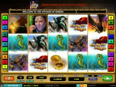 The Voyages of Sinbad slotmachines77.com Leander Games 1/5