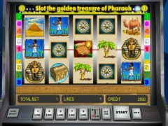 Golden Treasure of Pharaoh - Greentube