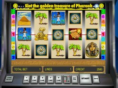 Golden Treasure of Pharaoh - Gaminator