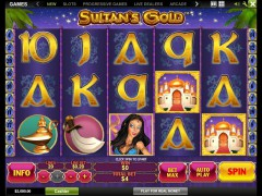 Sultan's Gold slotmachines77.com Playtech 1/5