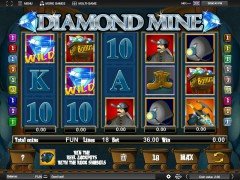 Diamond Mine slotmachines77.com Espresso Games 1/5